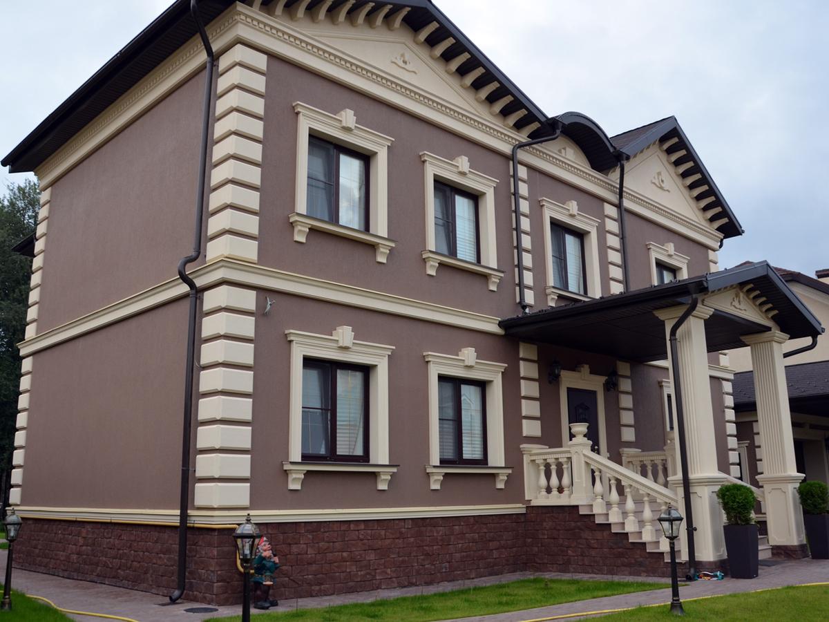Дизайн мокрых фасадов
